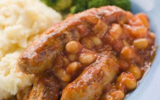 Ragoût de haricot blanc aux saucisses WW