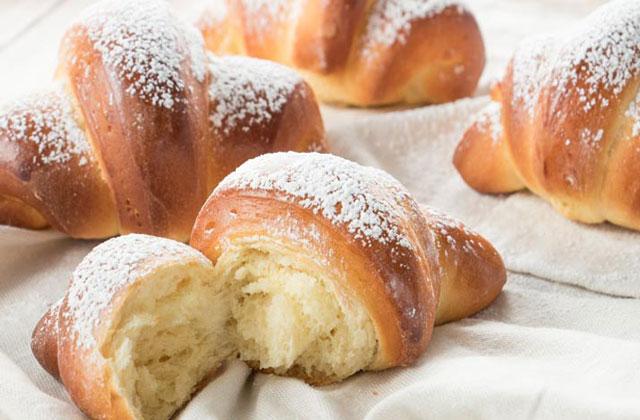 Croissants Briochés au Yaourt au Thermomix