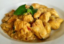 Curry de Poulet au Yaourt WW