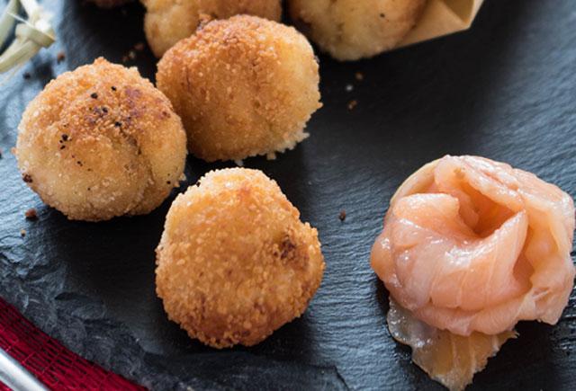 croquettes de saumon et pommes de terre au Thermomix