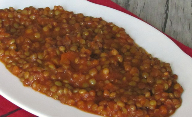 Ragoût de Lentilles au Thermomix