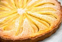 tarte à la frangipane et aux poires au thermomix
