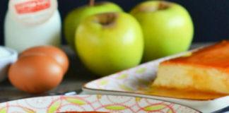 Crème Caramel aux Pommes au Thermomix