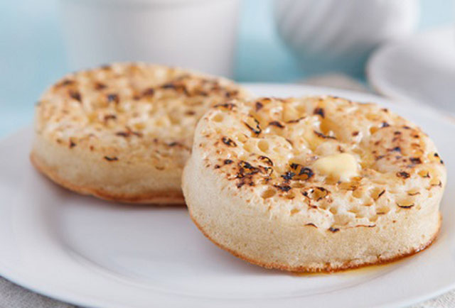 Crumpets légers WW