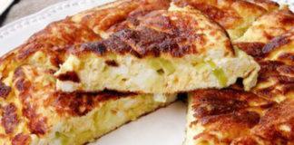 Omelette Légère aux Poireaux et Ricotta WW