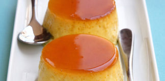 crème caramel légère au yaourt WW
