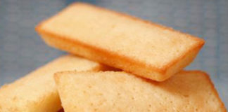 financiers au citron au Thermomix