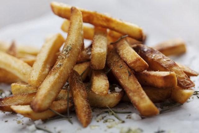 frites légères au four WW