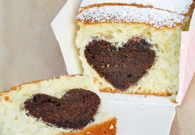 Gâteau Surprise de la Saint-Valentin au Thermomix
