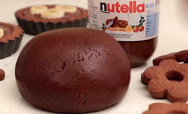 pâte sablée au nutella au Thermomix