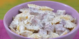 pâtes au jambon et au yaourt WW