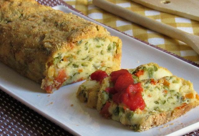 pain de légumes léger WW