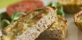 quiche légère au thon et parmesan WW