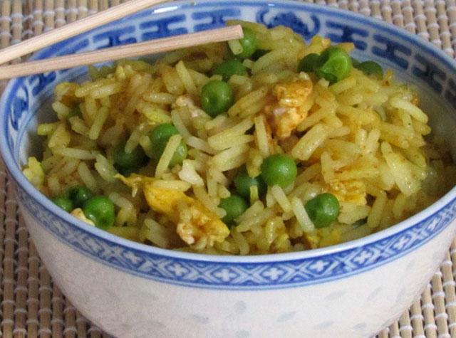 Riz au Curry et aux Petits Pois WW