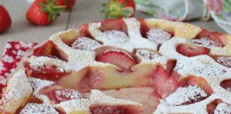 clafoutis léger aux fraises WW