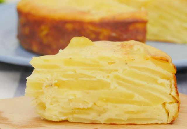 gâteau léger invisible pommes de terre WW