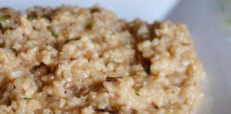 risotto aux champignons séchés au Thermomix