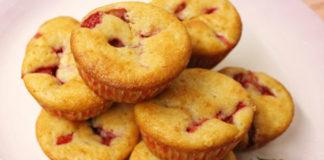 Muffins Légers au Yaourt et aux Fraises WW