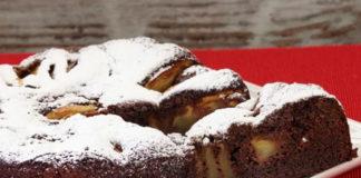 gâteau aux pommes et au chocolat au Thermomix