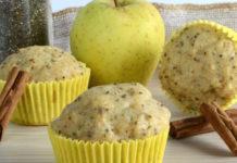 Muffins Légers aux Pommes et aux Graines de pavot WW
