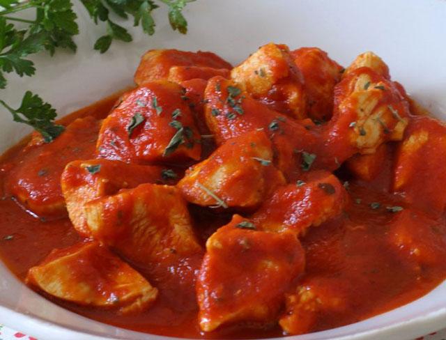Poulet à la Sauce Tomate WW