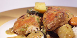 Colombo de poulet avec Cookeo