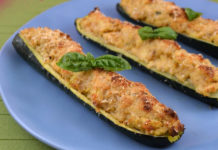 Courgettes Farcies au Thon au Thermomix