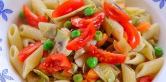 Pâtes aux Légumes de Printemps WW