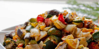 Ratatouille Facile au Thermomix