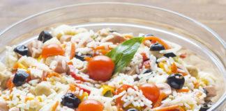 Salade de Riz aux Saucisses knacki WW