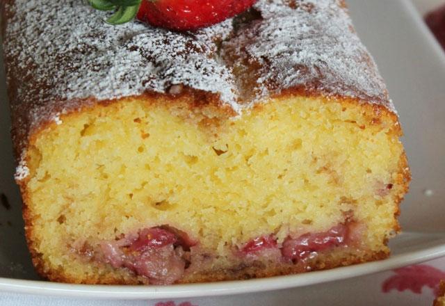 cake aux fraises et au yaourt WW