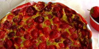 clafoutis aux fraises WW