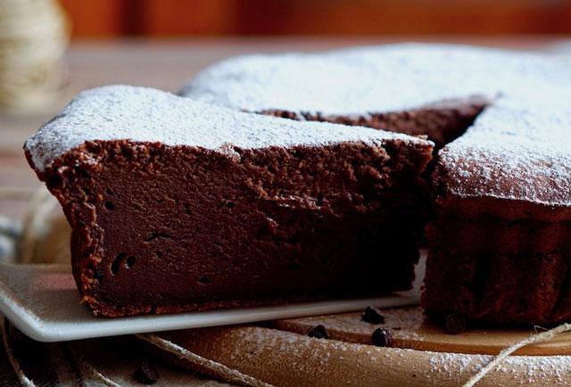gâteau au chocolat et au yaourt au Thermomix