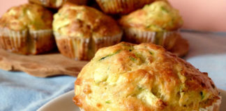 muffins au thon et aux courgettes au Thermomix