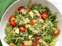 Salade d'avocat et quinoa