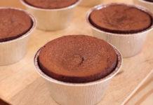 Soufflé Express au Nutella au Thermomix