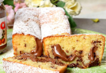 cake à la banane et au nutella au Thermomix