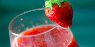 Cocktail Caïpiroska aux Fraises au Thermomix