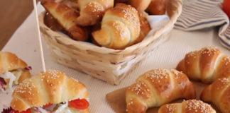 Croissants Salés Briochés au Thermomix