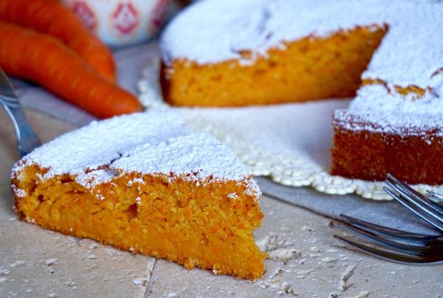 Gâteau Léger aux Carottes WW