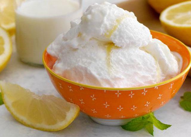 Glace au Citron au Thermomix