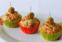 Muffins Légers au Thon et Olives Vertes WW