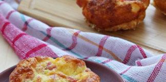 Muffins Soufflés au Jambon et au Fromage WW