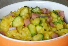 Risotto aux Courgettes / Jambon et Curry WW