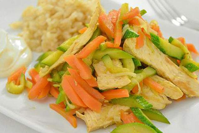 Sauté de Légumes au Poulet WW