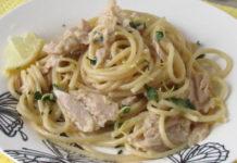 Spaghettis au Thon et au Citron WW