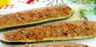 Courgettes Farcies au Thon WW
