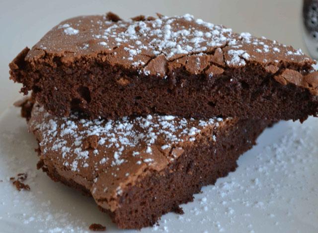 Fondant au Chocolat Sans Beurre WW
