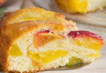 Gâteau Léger au Yaourt et aux Pêches WW
