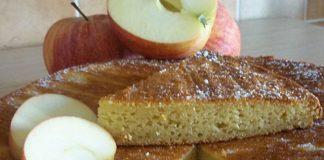 Gâteau aux Pommes Léger WW